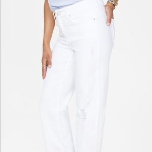 NYDJ straight ankle jeans